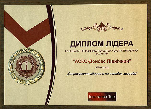 История СК АСКО ДС   insurance top в сфере страхования по итогам 2011 года и получила диплом лидера класса Наиболее профессиональная страховая компания Восточного региона